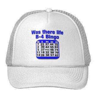 Was there life B-4 Bingo Mesh Hat
