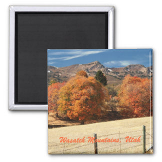 Wasatch Mountains, Utah Magnet