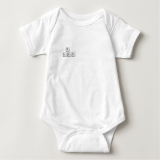 WASD Keys Baby Bodysuit