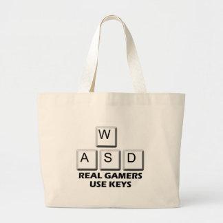 WASD - Real Gamers Use Keys Bag