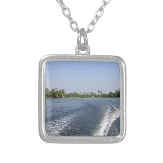 Wash from a boat in a saltwater lagoon custom jewelry