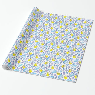 wash pattern wrapping paper