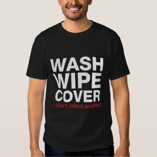 Wash Wipe Cover T-shirt