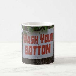 Wash Your Bottom Mug
