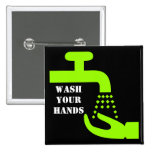 Wash Your Hands Button