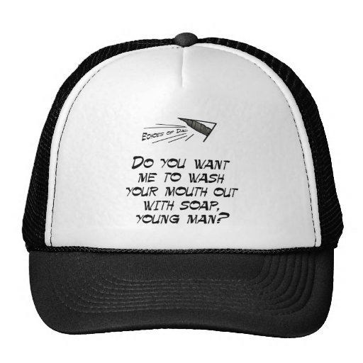 Wash your mouth out with soap mesh hats
