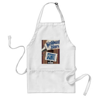 Washboard Blues Vintage Song sheet Cover Adult Apron