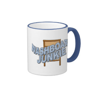 Washboard Junkie Coffee Mugs