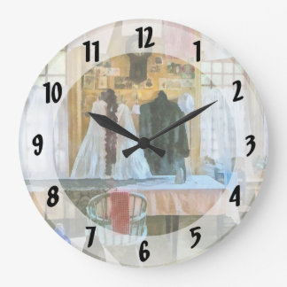 Washday Wall Clock