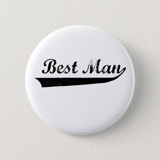 "Washed out ""Best Mam"" design 6 Cm Round Badge"
