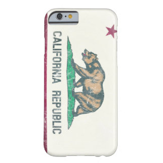 Washed Out California Republic Barely There iPhone 6 Case