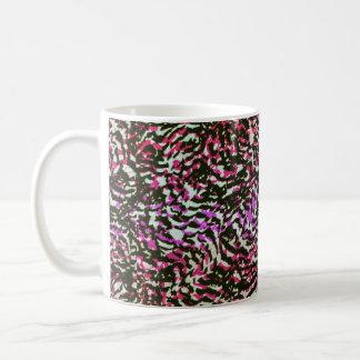Washed Out Zebra Pattern Mugs