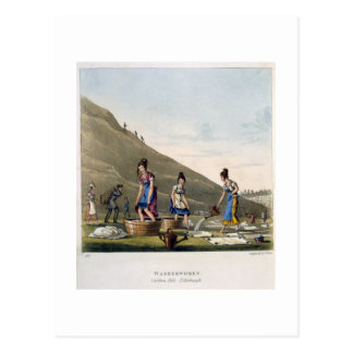 Washerwomen, Calton Hill, Edinburgh, from 'Airy No Postcard