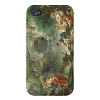 Washerwomen - François Boucher iPhone 4 Cases