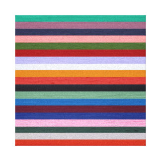 Washi Stripes Canvas Print