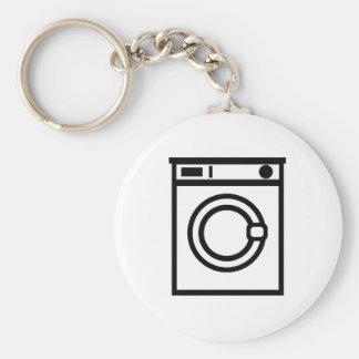 Washing machine basic round button key ring