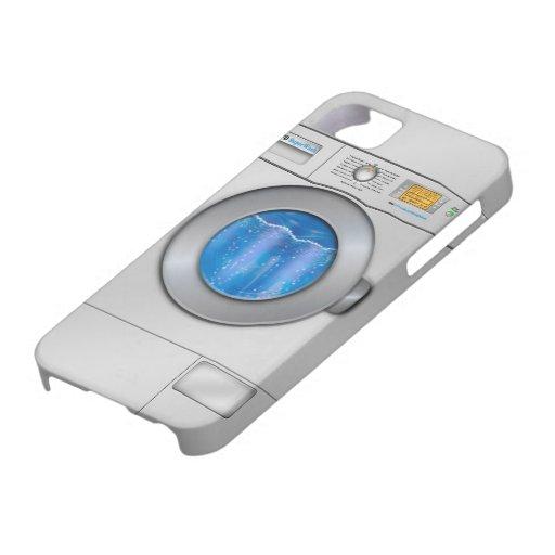 Washing Machine iPhone 5/5S Covers