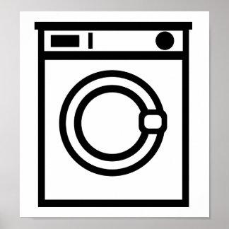 Washing machine posters