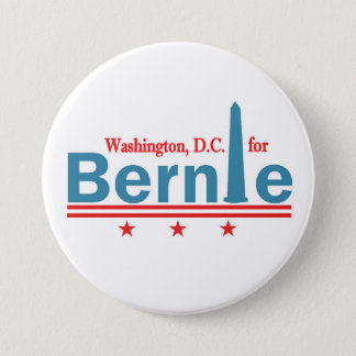 Washingon, D.C. for Bernie 7.5 Cm Round Badge