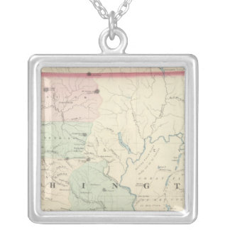 Washington 2 silver plated necklace