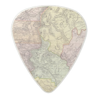 Washington 3 acetal guitar pick