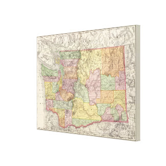 Washington 3 canvas print