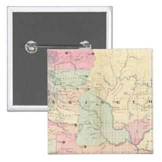 Washington 6 15 cm square badge