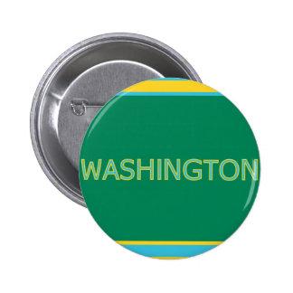 Washington 6 Cm Round Badge