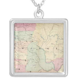 Washington 6 silver plated necklace