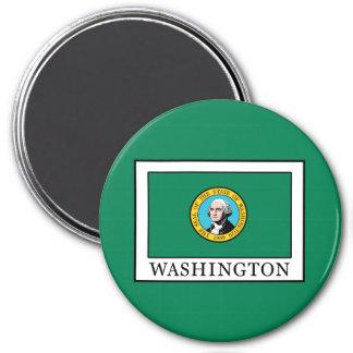 Washington 7.5 Cm Round Magnet