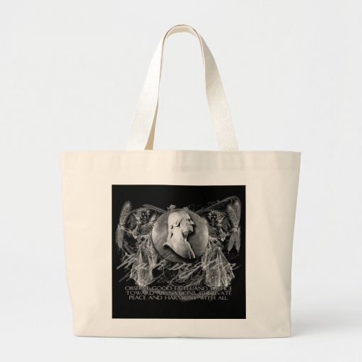 Washington, a Hero, on Foreign Policy Tote Bag