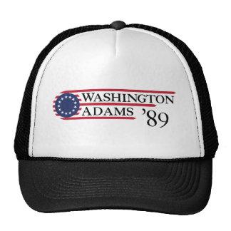 Washington Adams '89 Hats