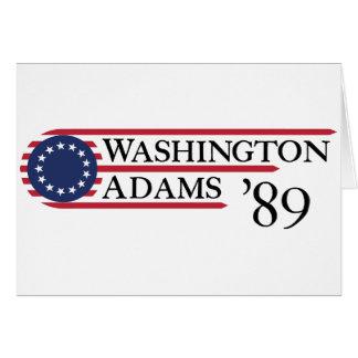 Washington Adams '89 Greeting Cards