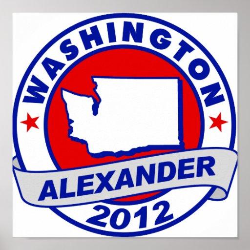 Washington  Alexander Posters