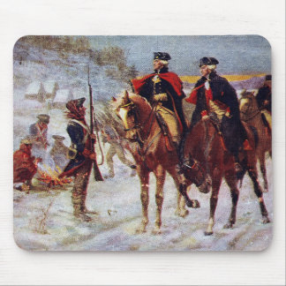 Washington and Lafayette at Valley Forge ~ Mouse Mat
