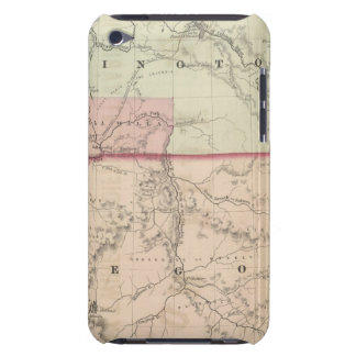 Washington and Oregon and Idaho and Montana Barely There iPod Cases