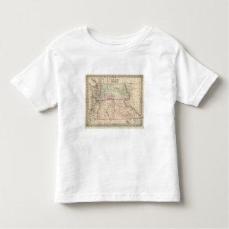 Washington and Oregon and Idaho and Montana Toddler T-Shirt