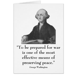 Washington and quote greeting cards