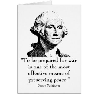 Washington and quote cards