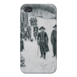 Washington and Steuben at Valley Forge iPhone 4/4S Cases