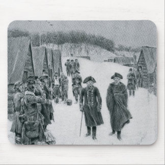 Washington and Steuben at Valley Forge Mouse Mat