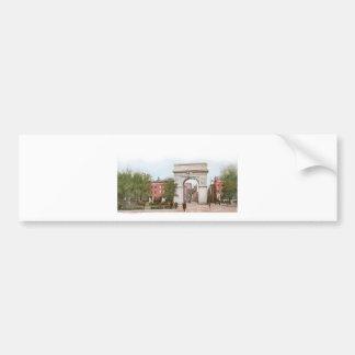 Washington Arch, Washington Square, New York Bumper Sticker