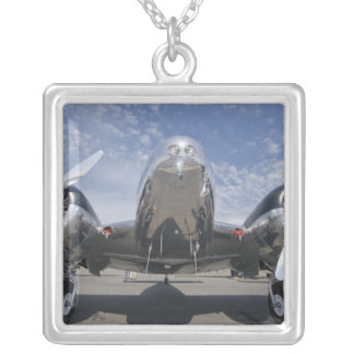 Washington, Arlington Fly-in, airshow. Square Pendant Necklace