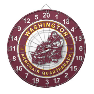Washington Armchair Quarterback Football Dartboard