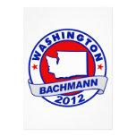 Washington Bachmann Custom Announcements