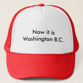 Washington BC Trucker Hat