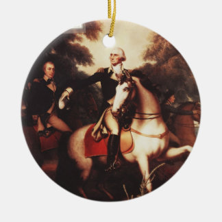 Washington Before Yorktown by Rembrandt Peale Christmas Ornament