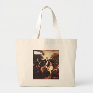 Washington Before Yorktown by Rembrandt Peale Jumbo Tote Bag
