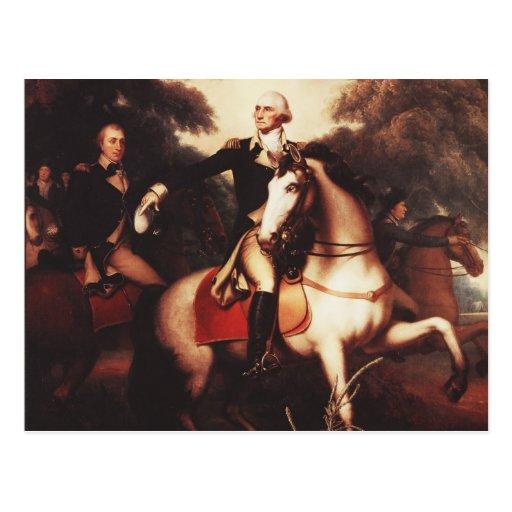 Washington Before Yorktown by Rembrandt Peale Postcard