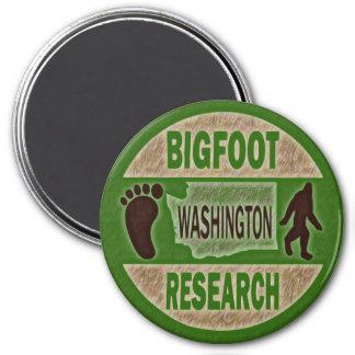 Washington Bigfoot Research 7.5 Cm Round Magnet